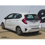 Trailer Hitch Installation - 2015 Honda Fit - Curt