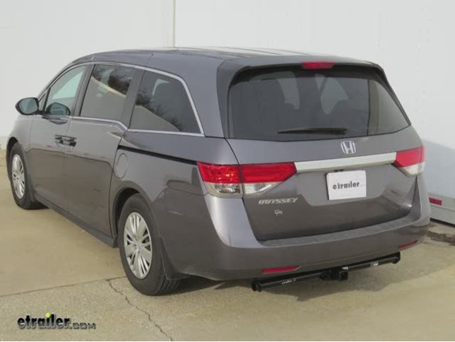 install trailer hitch 2015 honda odyssey c13068_644 trailer hitch installation 2015 honda odyssey curt video  at soozxer.org
