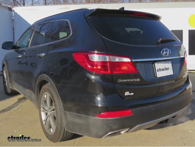 Trailer Hitch Installation 2015 Hyundai Santa Fe Hidden Hitch