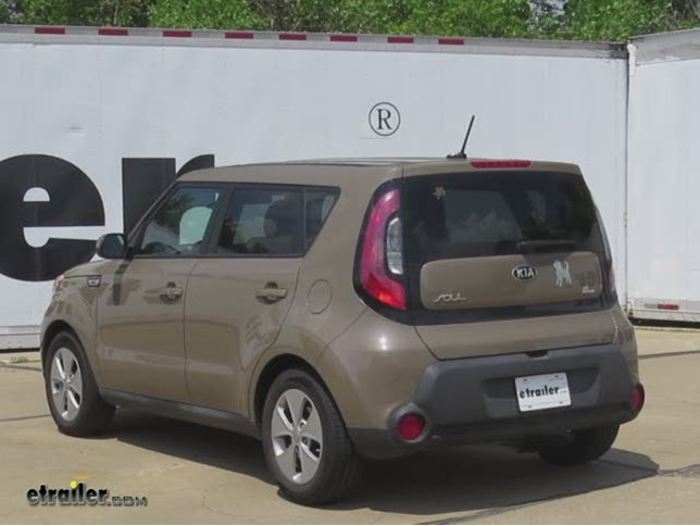 Trailer Hitch Installation 2015 Kia Soul Hidden Hitch Video