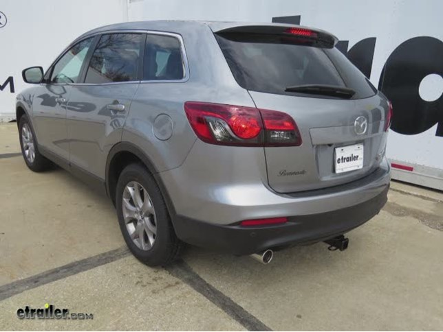 install trailer hitch 2015 mazda cx 9 13575_644 trailer hitch installation 2015 mazda cx 9 curt video etrailer com