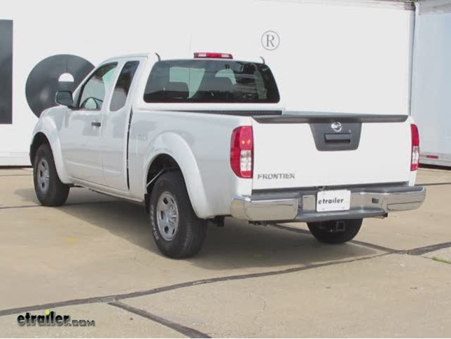 Install Trailer Hitch Nissan Frontier