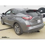 Trailer Hitch Installation - 2015 Nissan Murano - Hidden Hitch