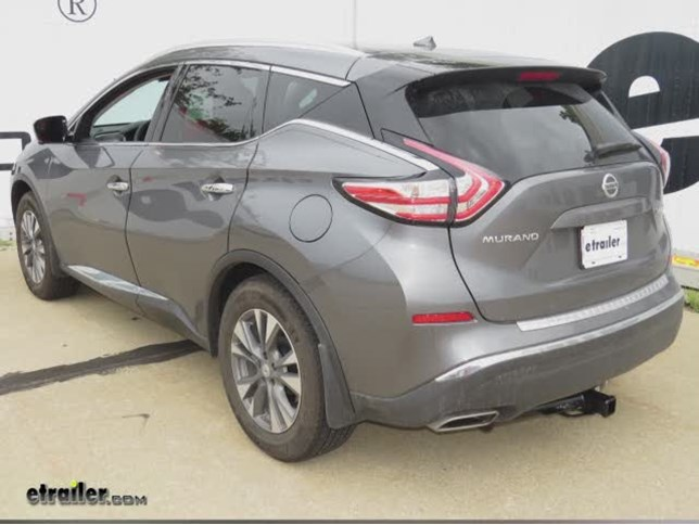 2015 nissan murano trailer hitch hidden hitch. Black Bedroom Furniture Sets. Home Design Ideas