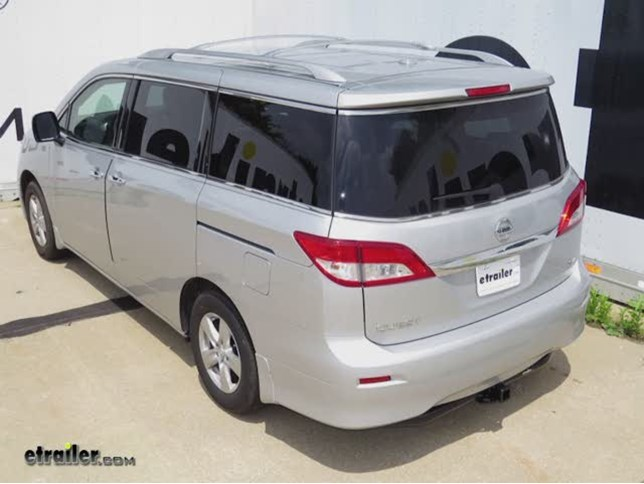 2015 nissan quest curt trailer hitch receiver custom fit class iii 2. Black Bedroom Furniture Sets. Home Design Ideas