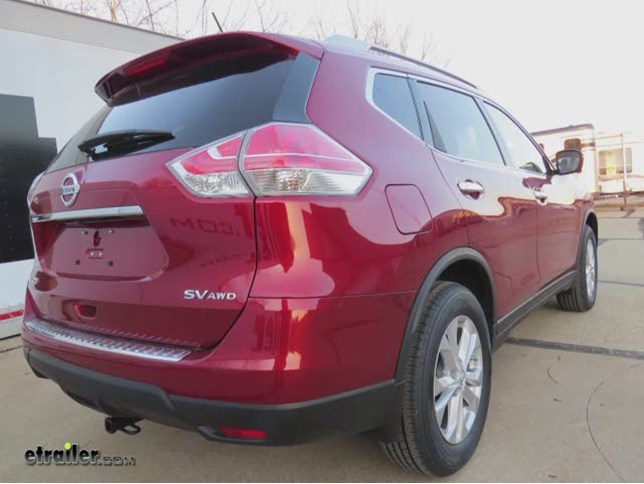 Trailer Hitch Installation   2015 Nissan Rogue   Draw Tite Video |  Etrailer.com