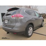 Trailer Hitch Installation - 2015 Nissan Rogue - Hidden Hitch