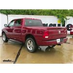 Trailer Hitch Installation - 2015 Ram 1500 - Curt