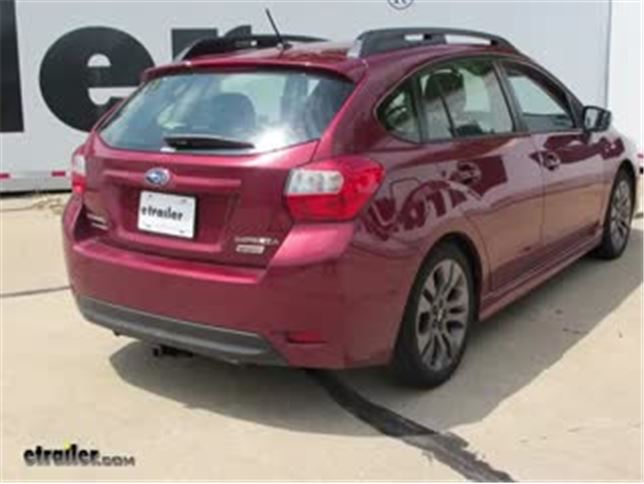 2017 Subaru Impreza Trailer Hitch - Curt