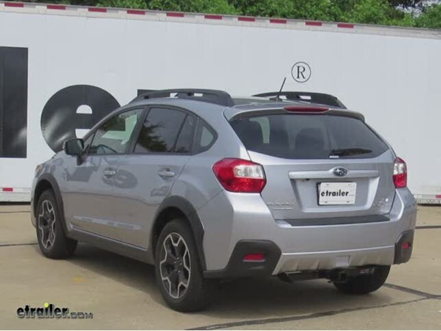 install trailer hitch 2015 subaru xv crosstrek c13135_644 trailer hitch installation 2015 subaru xv crosstrek curt video  at bakdesigns.co