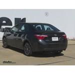 Trailer Hitch Installation - 2015 Toyota Corolla - Draw-Tite