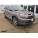 Trailer Hitch Installation - 2015 Toyota Highlander - Hidden Hitch