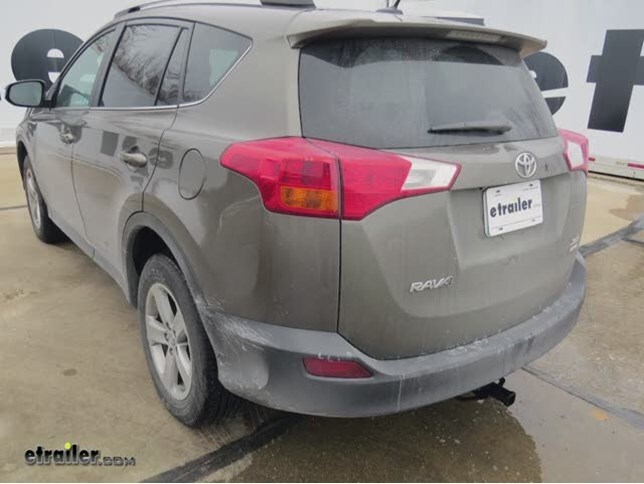 Trailer Hitch Installation 2015 Toyota RAV4 DrawTite Video - Install Trailer Hitch Rav4