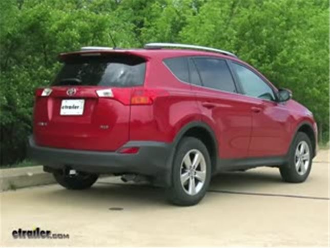 DrawTite MaxFrame Trailer Hitch Installation 2015 Toyota RAV4 - Install Trailer Hitch Rav4