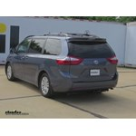 Trailer Hitch Installation - 2015 Toyota Sienna - Curt
