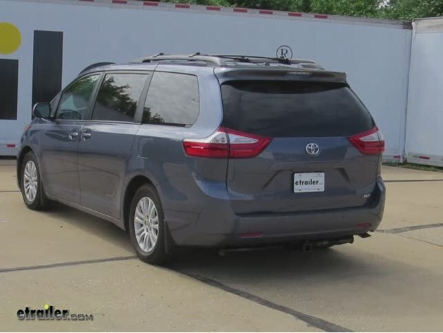 Trailer Hitch Installation 2015 Toyota Sienna Curt Video - Install Trailer Hitch Rav4
