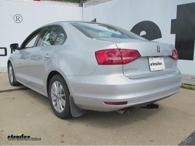 Tekonsha P3 >> 2015 Volkswagen Jetta Curt Trailer Hitch Receiver - Custom