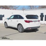 Trailer Hitch Installation - 2016 Acura MDX - Draw-Tite