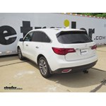 Trailer Hitch Installation - 2016 Acura MDX - Curt