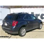 etrailer.com Trailer Hitch Installation - 2016 Chevrolet Equinox