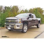 Front Mount Trailer Hitch Installation - 2016 Chevrolet Silverado 2500 - Curt