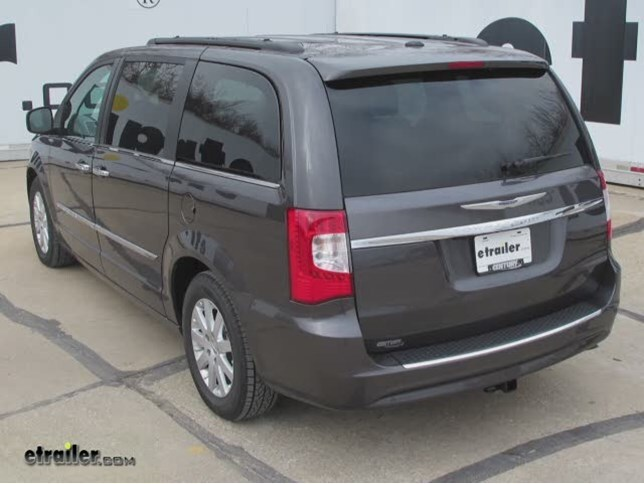 2016 chrysler town and country trailer hitch hidden hitch. Black Bedroom Furniture Sets. Home Design Ideas