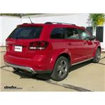 Trailer Hitch Installation - 2016 Dodge Journey - Curt