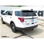 Trailer Hitch Installation - 2016 Ford Explorer - Draw-Tite