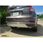 Trailer Hitch Installation - 2016 Honda CR-V - Draw-Tite
