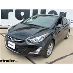 Trailer Hitch Installation - 2016 Hyundai Elantra - Curt