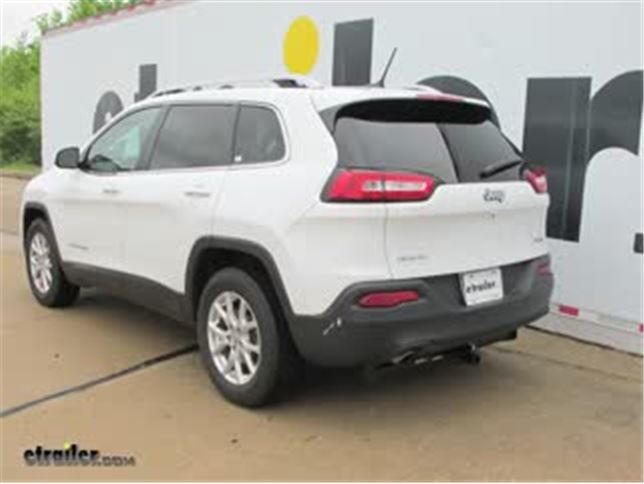install trailer hitch 2016 jeep cherokee 36545_644 trailer hitch installation 2016 jeep cherokee draw tite video  at honlapkeszites.co