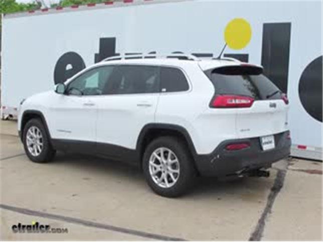 Trailer Hitch Installation   2016 Jeep Cherokee   Curt Video   Etrailer.com