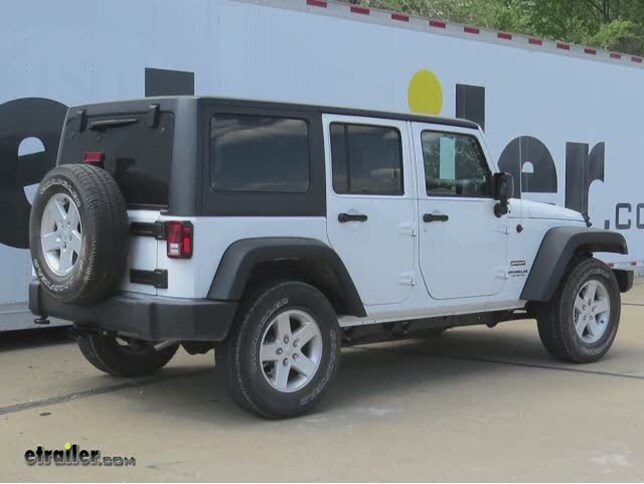 how to install trailer wiring harness jeep wrangler images wiring 2016 jeep wrangler unlimited draw tite trailer hitch receiver