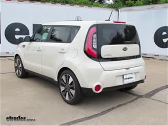 Trailer Hitch Installation 2016 Kia Soul Curt Video etrailercom