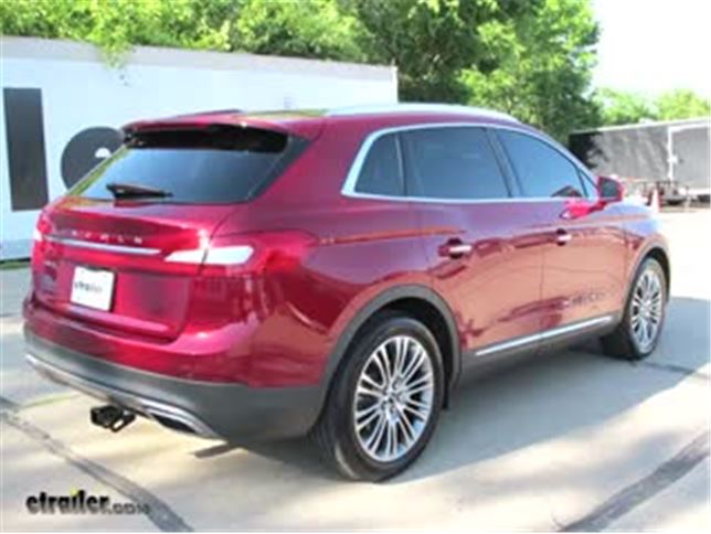 2016 Lincoln Mkx Trailer Hitch Draw Tite