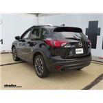 Trailer Hitch Installation - 2016 Mazda CX-5 - Curt