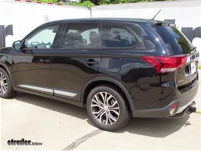 Trailer Hitch Installation 2016 Mitsubishi Outlander Curt Video