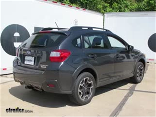 install trailer hitch 2016 subaru crosstrek c11286_644 trailer hitch installation 2016 subaru crosstrek curt video  at bayanpartner.co
