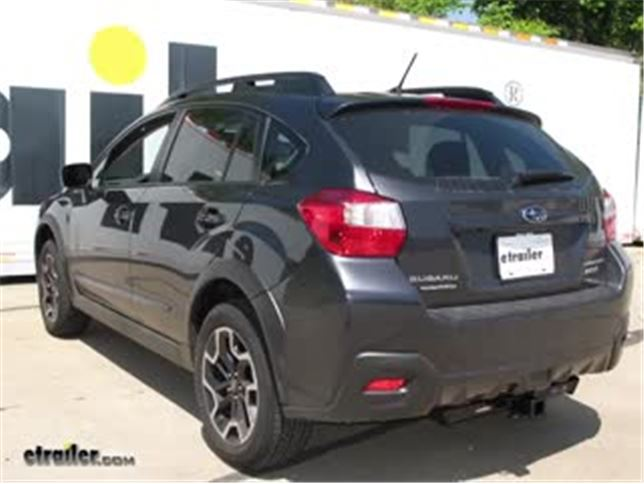 2016 Subaru Crosstrek Trailer Hitch Curt