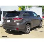 Trailer Hitch Installation - 2016 Toyota Highlander - Draw-Tite