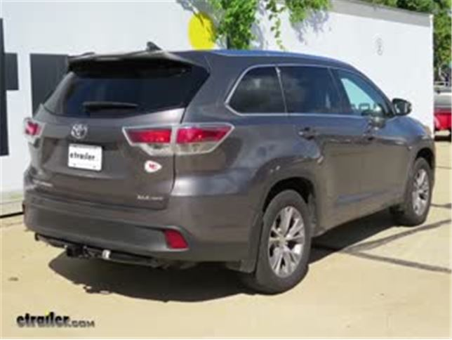 install trailer hitch 2016 toyota highlander 75896_644 trailer hitch installation 2016 toyota highlander draw tite 7 Pin Trailer Wiring at bayanpartner.co