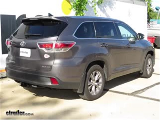 install trailer hitch 2016 toyota highlander c13200_644 trailer hitch installation 2016 toyota highlander curt video 2011 Toyota Highlander Wiring Harness at beritabola.co