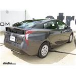 Trailer Hitch Installation - 2016 Toyota Prius - Draw-Tite