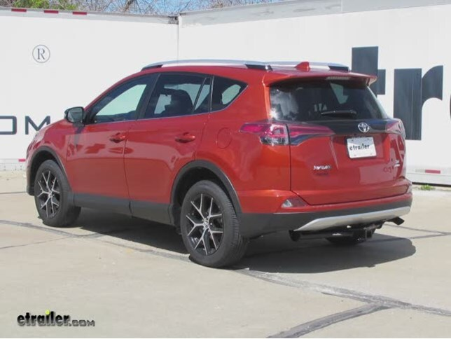 Trailer Hitch Installation 2016 Toyota RAV4 Curt Video - Install Trailer Hitch Rav4