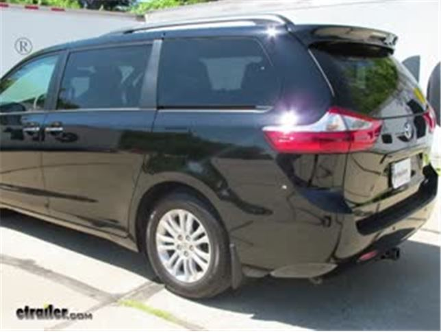Trailer Hitch Installation 2016 Toyota Sienna Curt