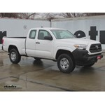 Trailer Hitch Installation - 2016 Toyota Tacoma - Curt