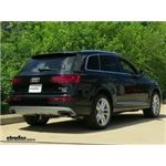 Draw-Tite Max-Frame Trailer Hitch Installation - 2017 Audi Q7