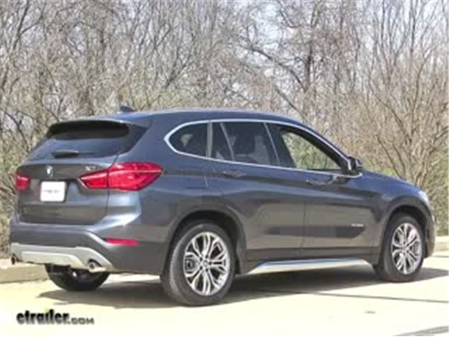 install trailer hitch 2017 bmw x1 76018_644 trailer hitch installation 2017 bmw x1 video etrailer com bmw x1 trailer wiring harness at edmiracle.co