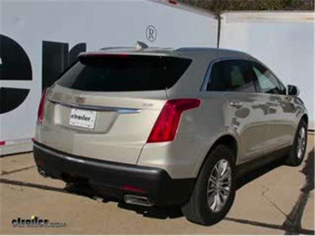 install trailer hitch 2017 cadillac xt5 76022_644 trailer hitch installation 2017 cadillac xt5 video etrailer com 2017 Cadillac XTS at fashall.co