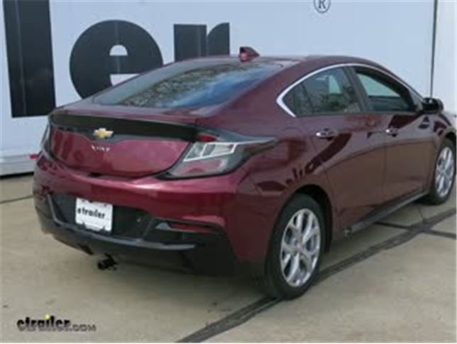 Today On Our 2017 Chevrolet Volt We Re Going To Be Taking A Look At And Installing The Curt Cl I Custom Fit Trailer Hitch Receiver Part Number C11436